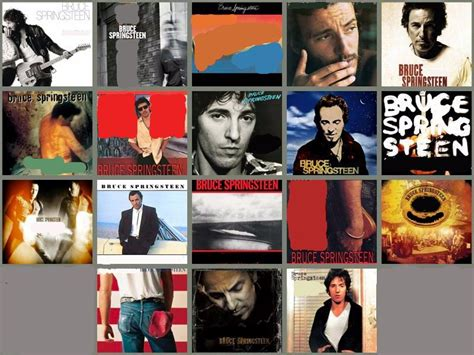 Bruce Springsteen Studio Albums Picture Click Quiz - By