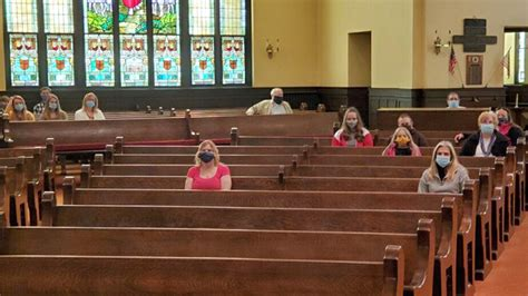 Churches practice caution before reopening | United
