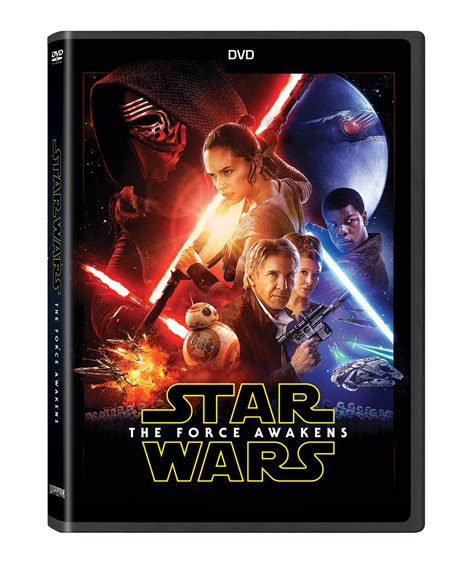 Star Wars: The Force Awakens Blu-ray and DVD Details