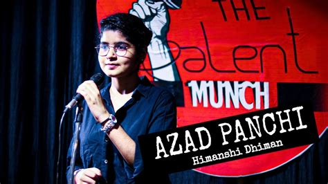 Azad Panchi - Poetry by Himanshi Dhiman   The Talent Munch