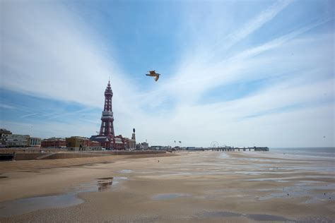 Headless body washes up on Blackpool beach