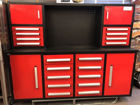 NEW 18 DRAWER 7 FT WORK BENCH & CABINETS 7FT18D - Uncle