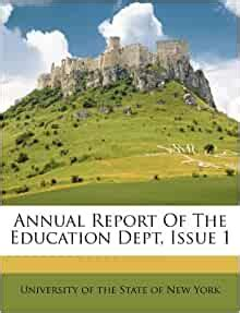 Annual Report of the Education Dept, Issue 1: Amazon