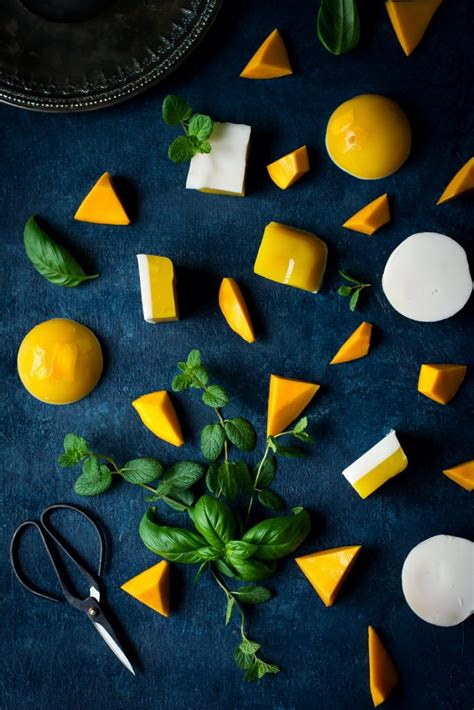 Asian Mango and Coconut Jelly - Love is in my Tummy