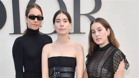 The Haim Sisters Wore Matching Heels to the Dior Show at