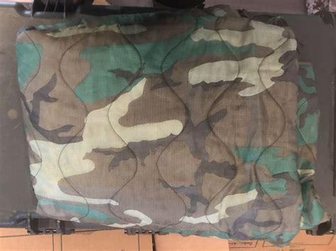 Military issue Camouflage Poncho Liner for Sale in