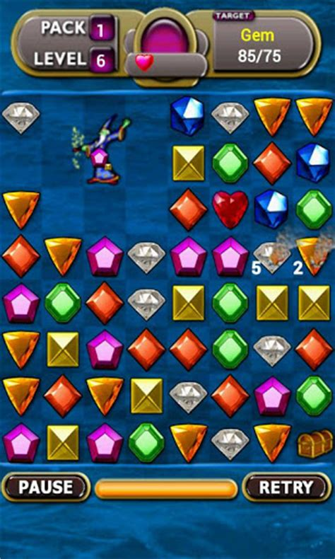 Jewel Magic Challenge » Android Games 365 - Free Android