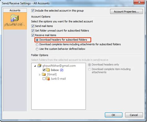Is Outlook 2010 Slow? Download Email Header Only