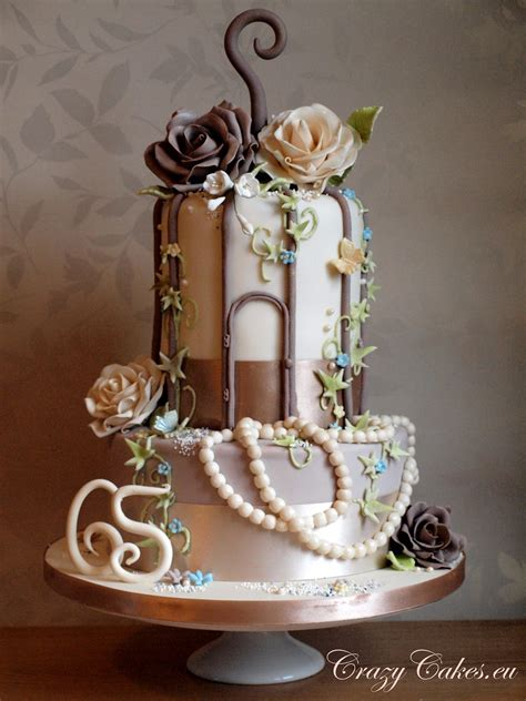 Mums 65th Birthday Bird Cage Cake | I made this for my