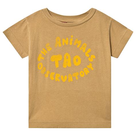 The Animal Observatory Khaki The Animals Rooster Kids T