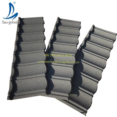 Low Price San-gobuild Building Material Stone Chip Covered