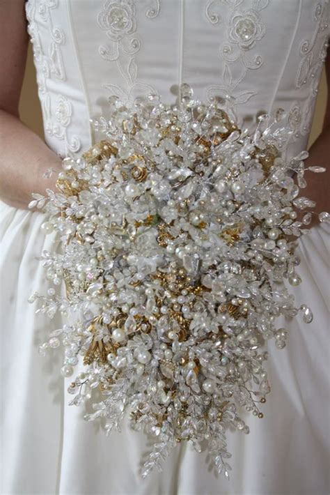 Bridal Bouquets without Flowers for Non-Traditional Brides