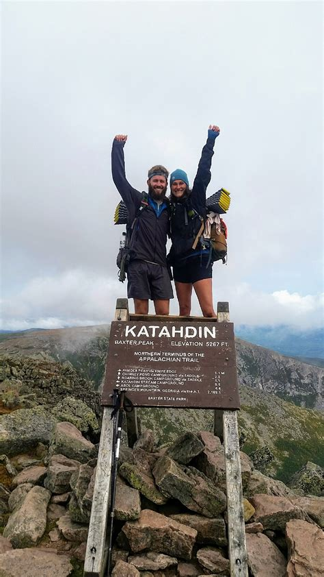 Congratulations to these Appalachian Trail Thru-Hikers