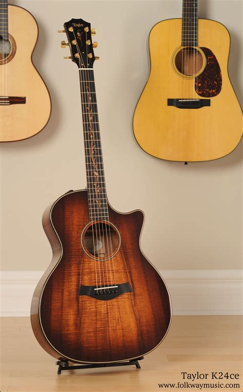 Taylor K24ce Acoustic Guitar   Vintage Guitars and New