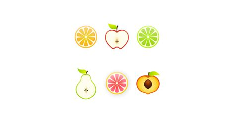 Fruit Slices Illustrations - Download Free Vector and PNG
