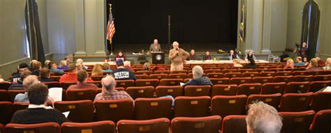 Few disagreements at Weston Town Meeting | The Chester