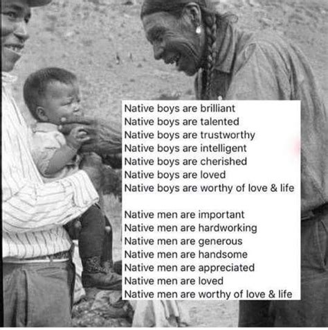 I expect so much more from Native men because of how you