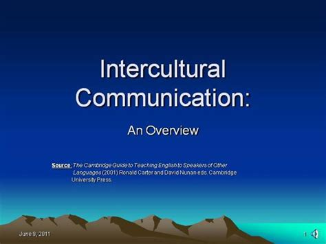 Intercultural Communication - an Overview  authorSTREAM