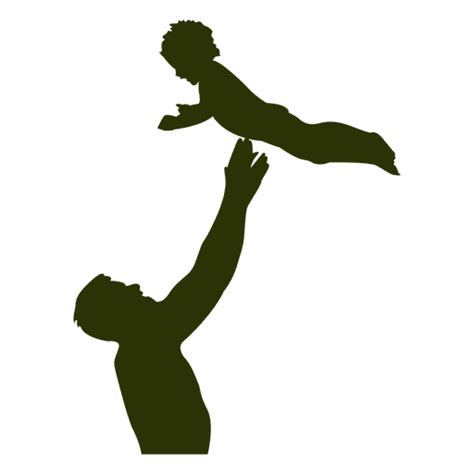 Dad playing with son - Transparent PNG & SVG vector file