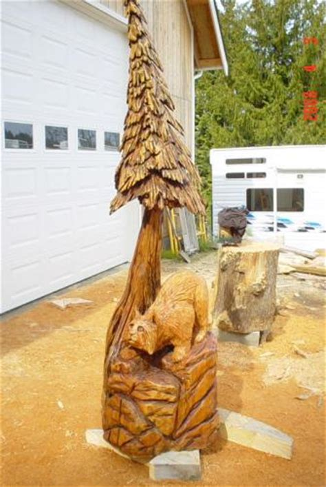 Bobcat - Chainsaw Carving Chain Saw Sculpture