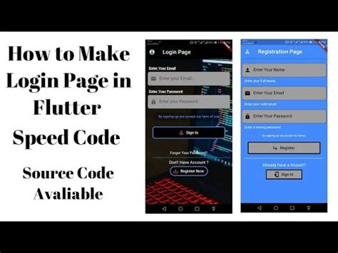 How to make Login Page in Flutter 2020 – CodingGigs