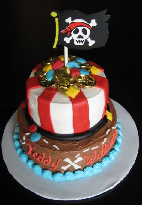 Some Cool Pirates Themed Cake Ideas-Pirates Cake designs