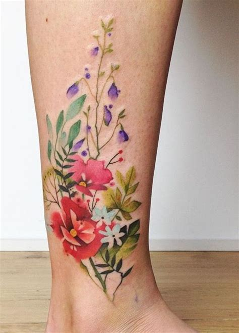Floral Tattoos Designs, Ideas and Meaning   Tattoos For You