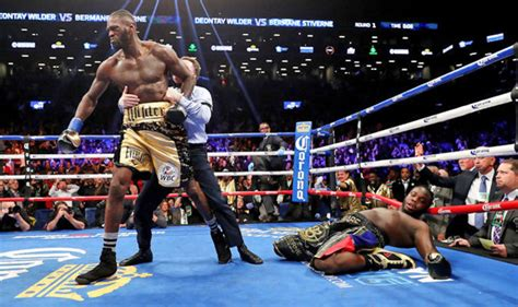 Deontay Wilder knocks out Bermane Stiverne in FIRST ROUND