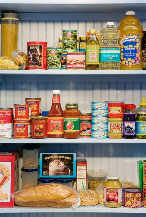 Pantry Basics and Staples: Standard Kitchen Supplies