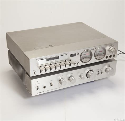 Pioneer - SA-3000 + CT-3000 - amplifiers for record player