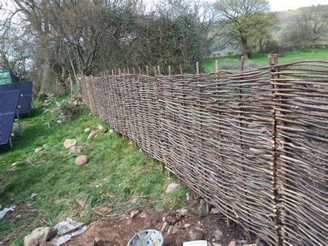 Willow Hurdles - Fences & Sheds