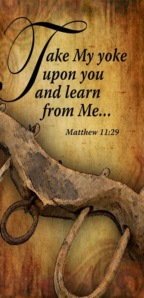 Take My Yoke upon You and Learn / Church or Personal Banners
