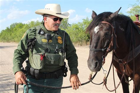 Horses Are Still Patrolling The Border In The Age Of High