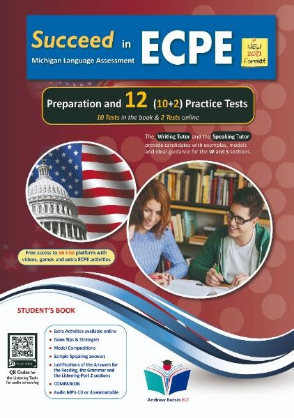 Succeed in ECPE Michigan Language Assessment NEW 2021