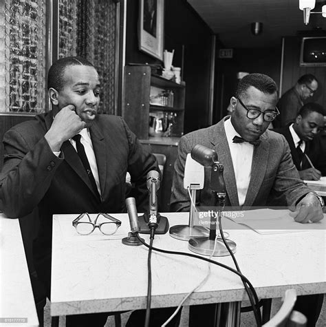 Philbert X brother of Black Muslim defector Malcolm X of
