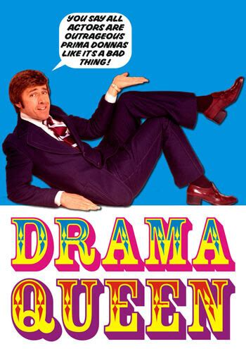 Drama Queen Funny Greeting Card £1