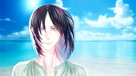 Attack On Titan Eren Yeager With Black Hair With