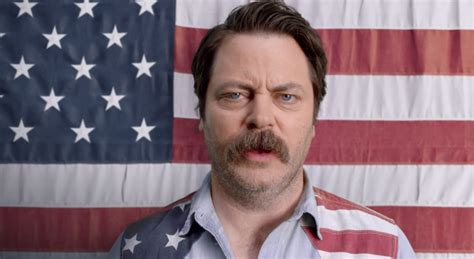 Ron Swanson's NASCAR Ad Will Make You Proud to be an