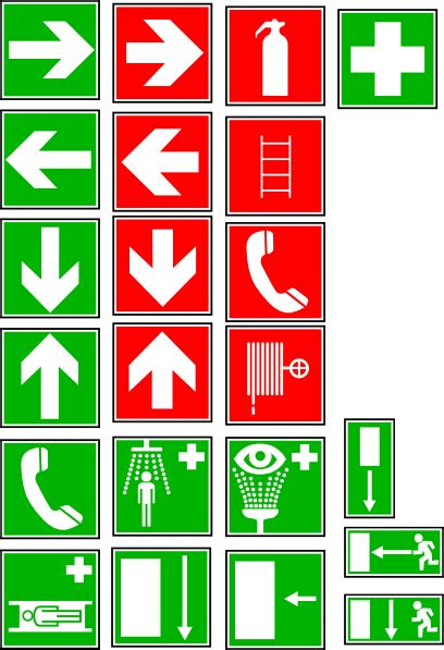Safety And Security Symbols Clip Art at Clker