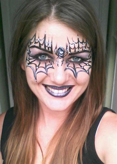 25 Outstanding Halloween Spider Makeup Ideas – The WoW Style
