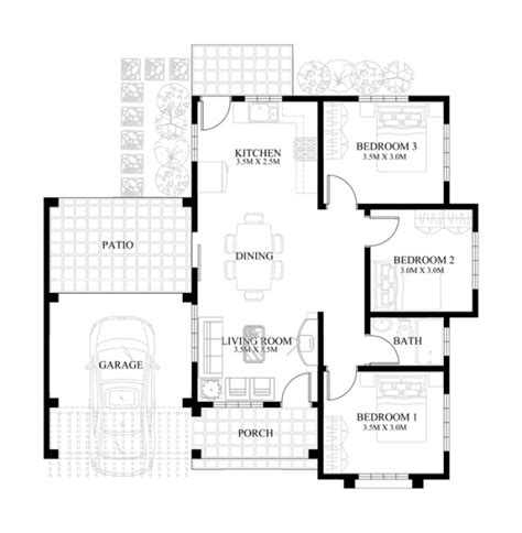 Small House Design-2013004   Pinoy ePlans - Modern House