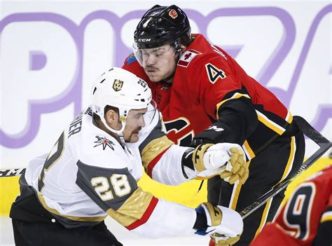 Golden Knights routed in Calgary, 7-2 | Las Vegas Review