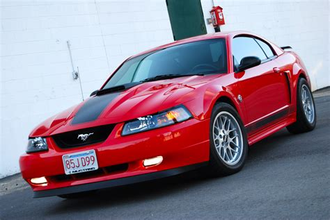 2004 Ford Mustang Mach One 1/4 mile Drag Racing timeslip