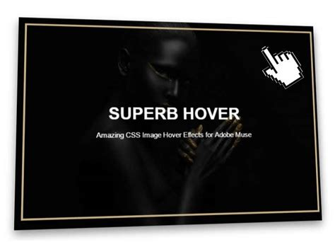 3D Parallax Image Hover Effect Adobe Muse Widget