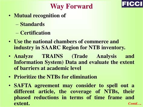 PPT - Non-Tariff Barriers (NTBs) in SAFTA PowerPoint