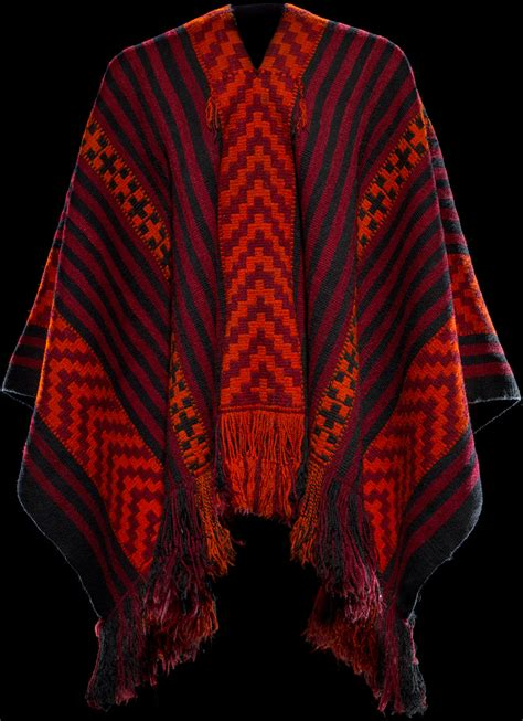 Mapuche poncho - Infinity of Nations: Art and History in