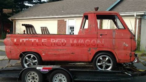 """1965 Dodge A100 """"Little Red Wagon"""" Project For Sale in"""