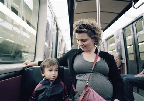 Should you give up your seat to a pregnant woman? - The