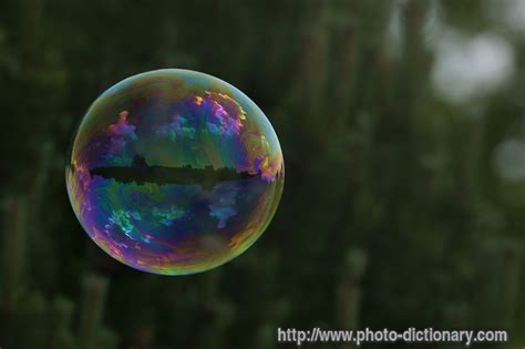 flying bubble - photo/picture definition at Photo