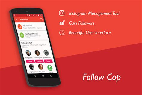 Unfollowers for Instagram, Follow Cop for PC Windows or